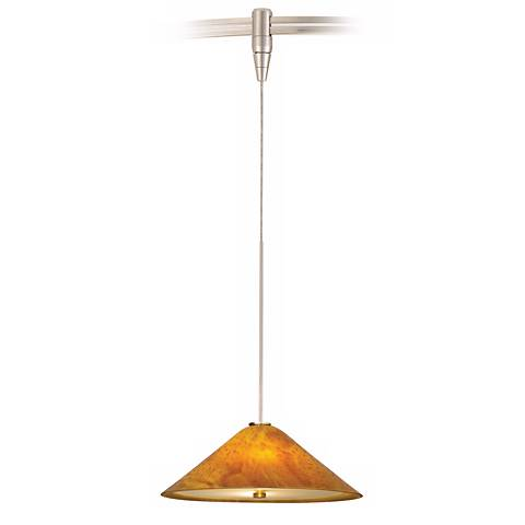 Larkspur Amber Mini Tech Lighting MonoRail Pendant