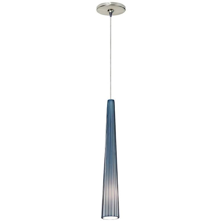 "Tech Lighting Zenith 3"" Wide Satin Nickel Mini Pendant"