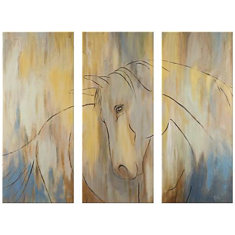 """Horse Couture 17 1/2""""x42"""" Giclee Print Wall Art"""