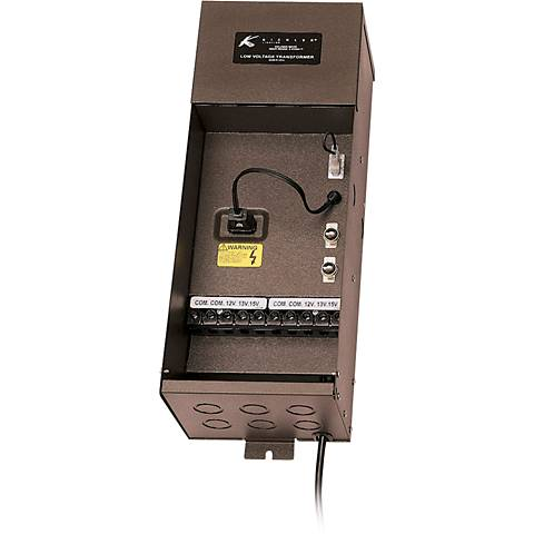 Kichler Plus Series 300-Watt Bronze Transformer