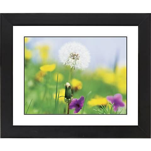 "Summer Meadow Black Frame Giclee 23 1/4"" Wide Wall Art"