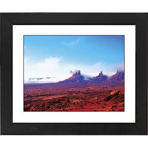"Arizona Painted Desert Black Frame 23 1/4"" Wide Wall Art"