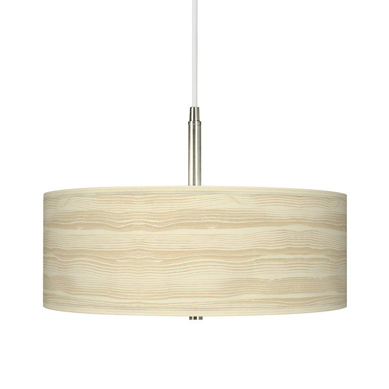 Birch Blonde Giclee Pendant Chandelier