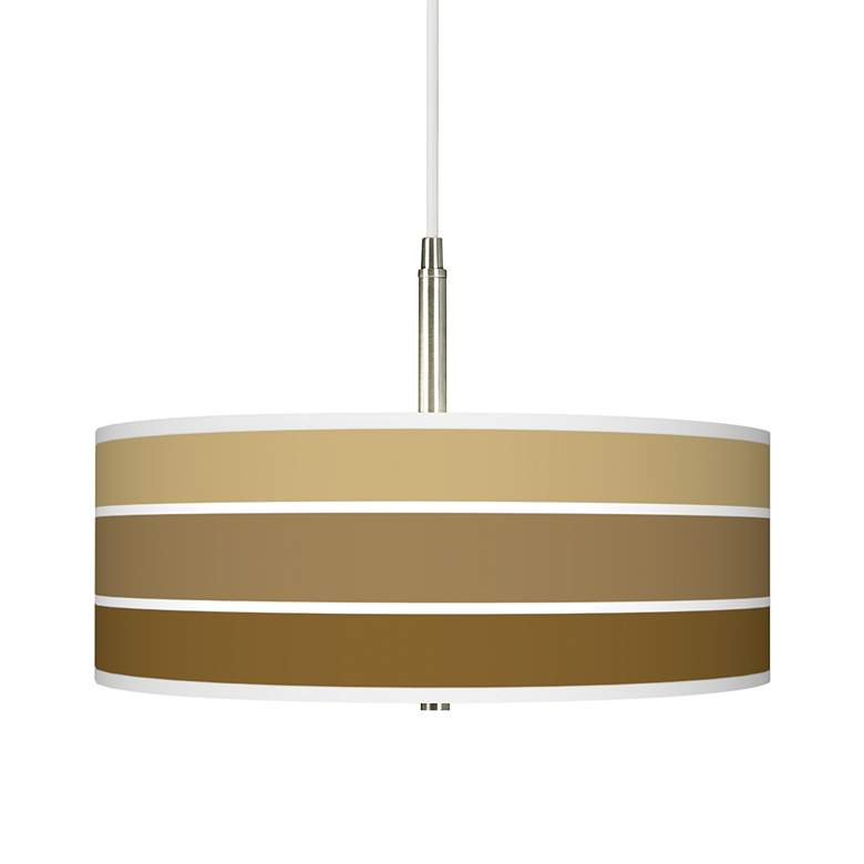 "Tones of Chestnut 16"" Wide Giclee Pendant Light"