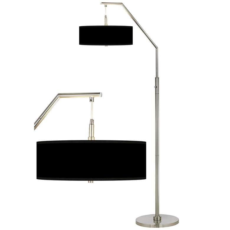 Black Shade Arc Floor Lamp