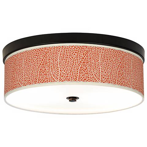 Stacy Garcia Seafan Coral Bronze CFL Ceiling Light