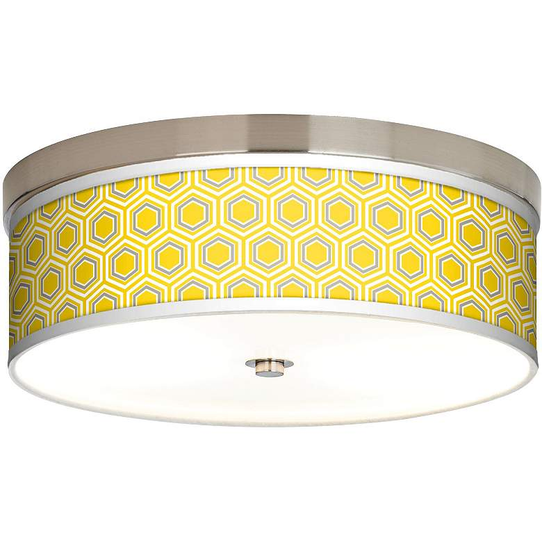Honeycomb Giclee Energy Efficient Ceiling Light
