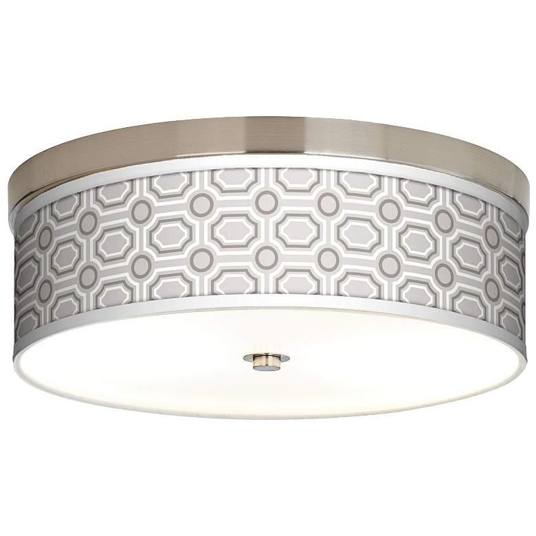 Luxe Tile Giclee Energy Efficient Ceiling Light