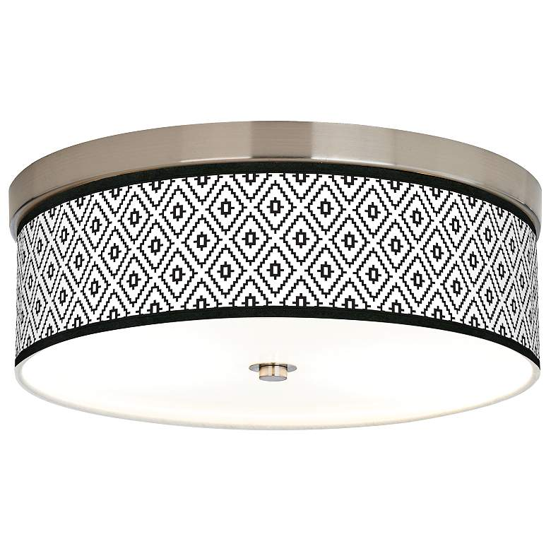 Black Diamonds Giclee Energy Efficient Ceiling Light