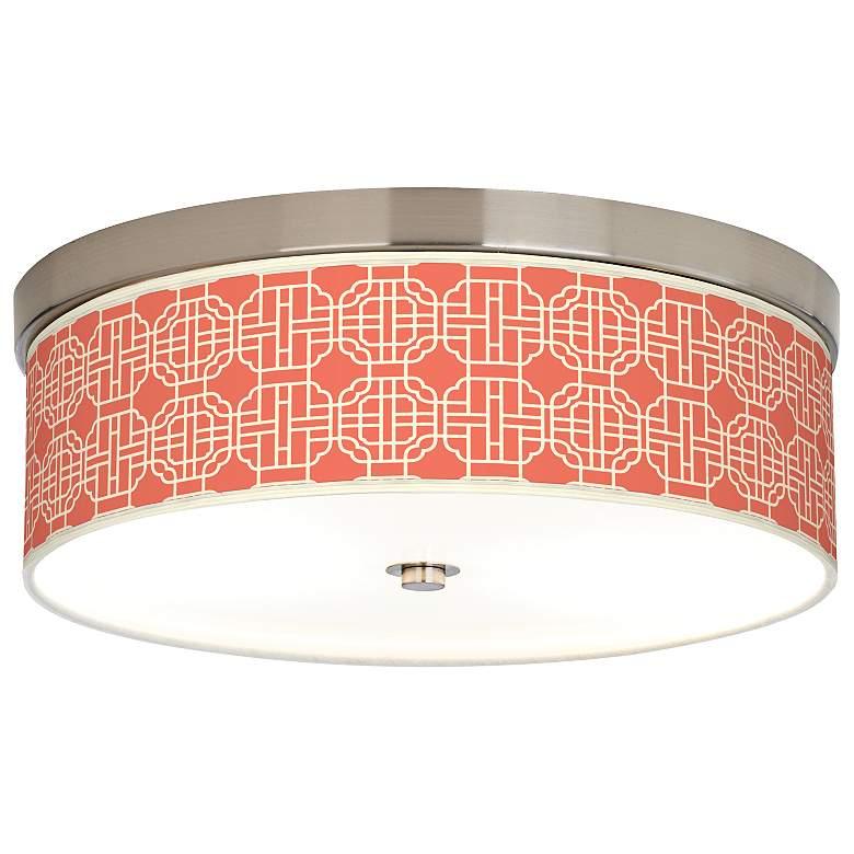 Mandarin Giclee Energy Efficient Ceiling Light