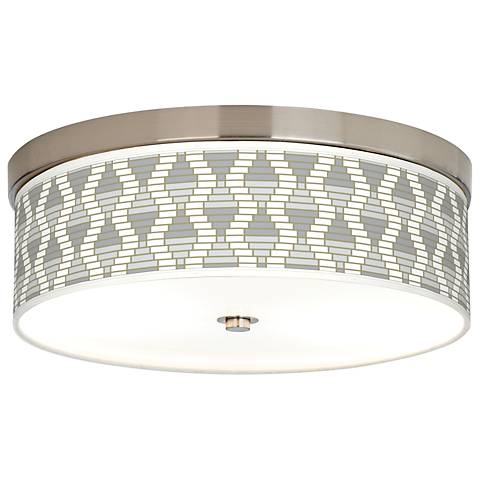 Stepping Out Giclee Energy Efficient Ceiling Light