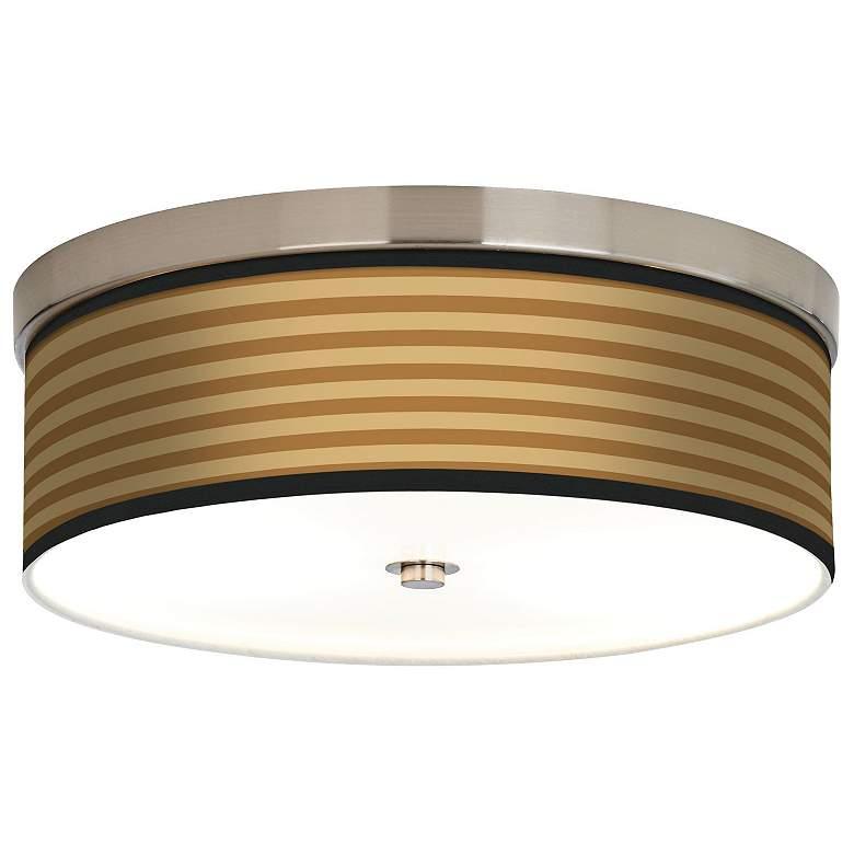 Butterscotch Parallels Giclee Energy Efficient Ceiling Light