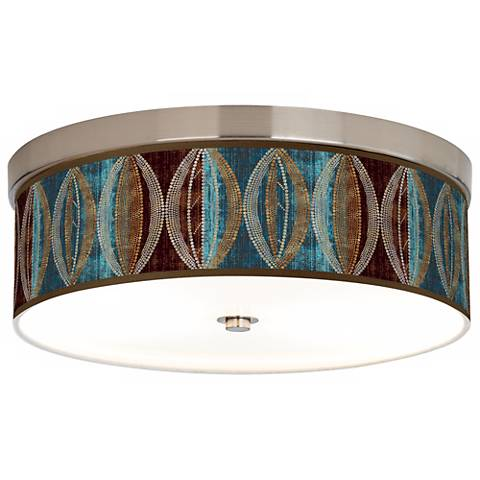 Stacy Garcia Pearl Leaf Peacock Energy Efficient Ceiling Light