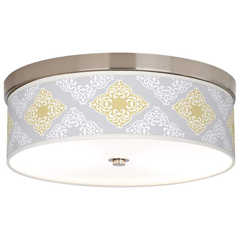 Aster Grey Giclee Energy Efficient Ceiling Light