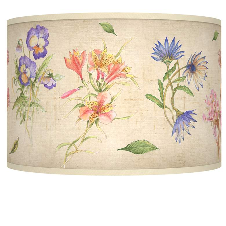 Floral Fancy Giclee Shade 12x12x8.5 (Spider)
