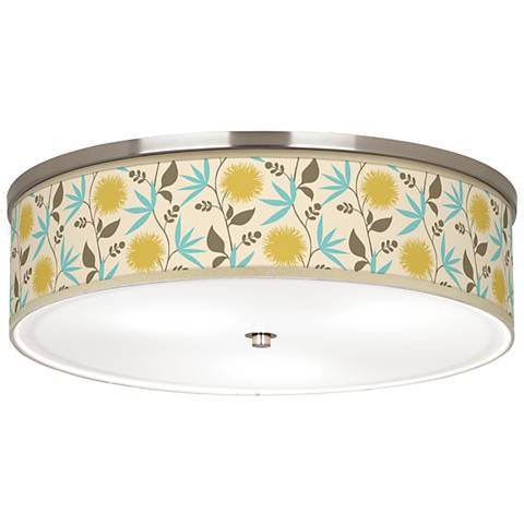 "Seedling by thomaspaul Dahlia 20 1/4"" Wide Ceiling Light"