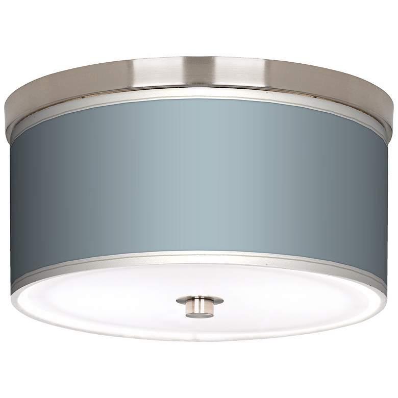 "Aqua-Sphere Nickel 10 1/4"" Wide Ceiling Light"