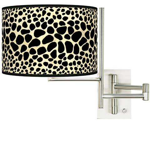 Tempo Leopard Plug-in Swing Arm Wall Light