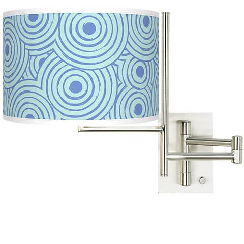 Tempo Circle Daze Plug-in Swing Arm Wall Light
