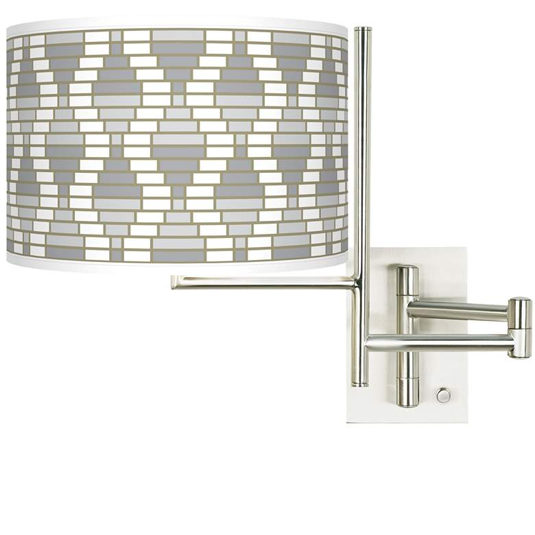 Tempo Stepping Out Plug-in Swing Arm Wall Light