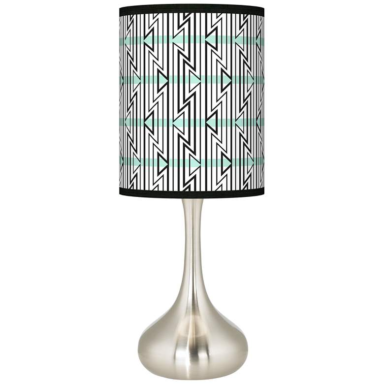 Indigenous Giclee Droplet Table Lamp
