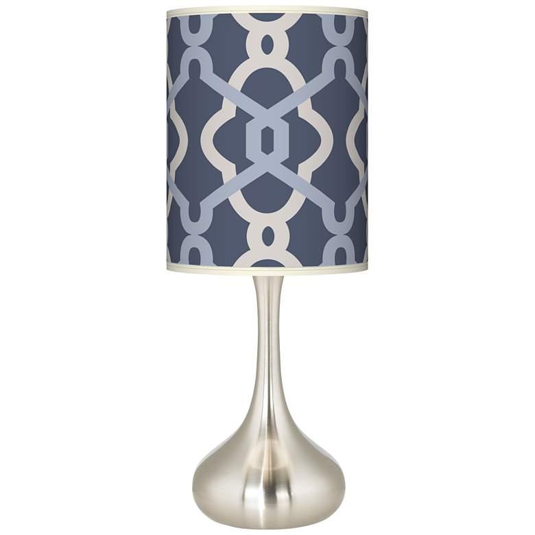 Hyper Links Vista Giclee Droplet Table Lamp