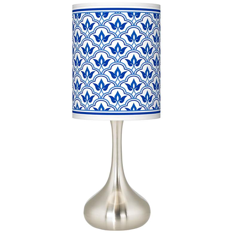Arabella Giclee Droplet Table Lamp