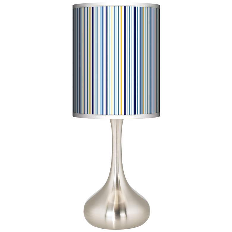 Stacy Garcia Cabana Stripe Giclee Droplet Table Lamp