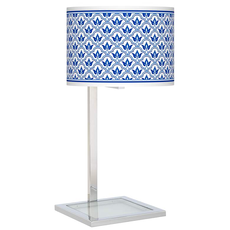Arabella Glass Inset Table Lamp