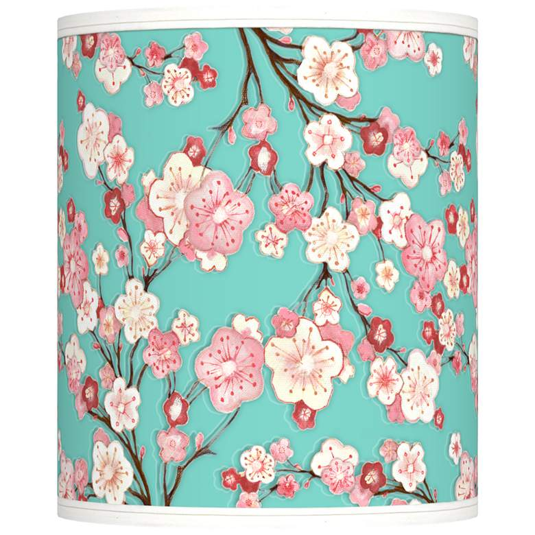 Cherry Blossoms Giclee Shade 10x10x12 (Spider)