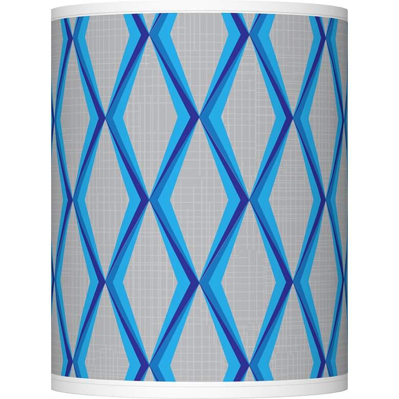 Bleu Matrix Giclee Shade 10x10x12 (Spider)