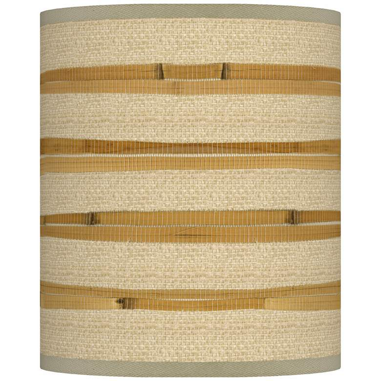 Bamboo Wrap Giclee Shade 10x10x12 (Spider)