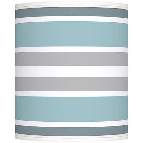 Multi Color Stripes Giclee Shade 10x10x12 (Spider)