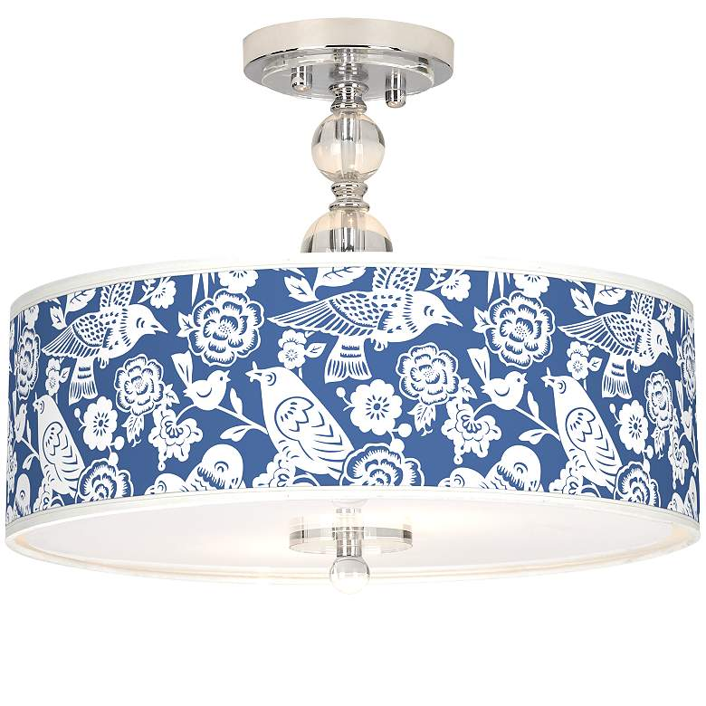 """Seedling by thomaspaul Aviary 16"""" Wide Ceiling Light"""