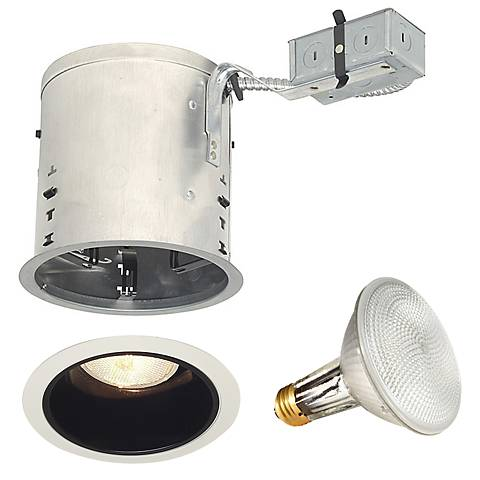 """Juno 6"""" Remodel IC Housing with Trim and Bulb"""