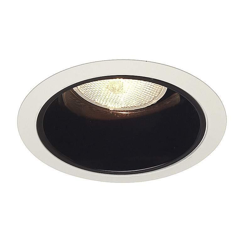 """Juno 6"""" Line Voltage Black Alzak Recessed Light Trim"""