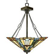 Quoizel Tiffany-Style Inglenook Pendant Chandelier