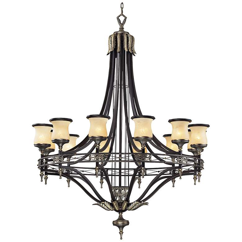 """Georgian Court Collection 48"""" Wide Large Chandelier"""