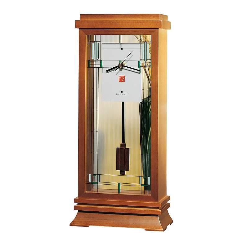 "Bulova Renata 13"" High Mantel Clock"