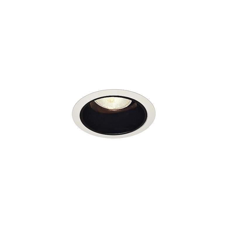 """Juno 4"""" Line Voltage Black Alzak Recessed Light Trim"""