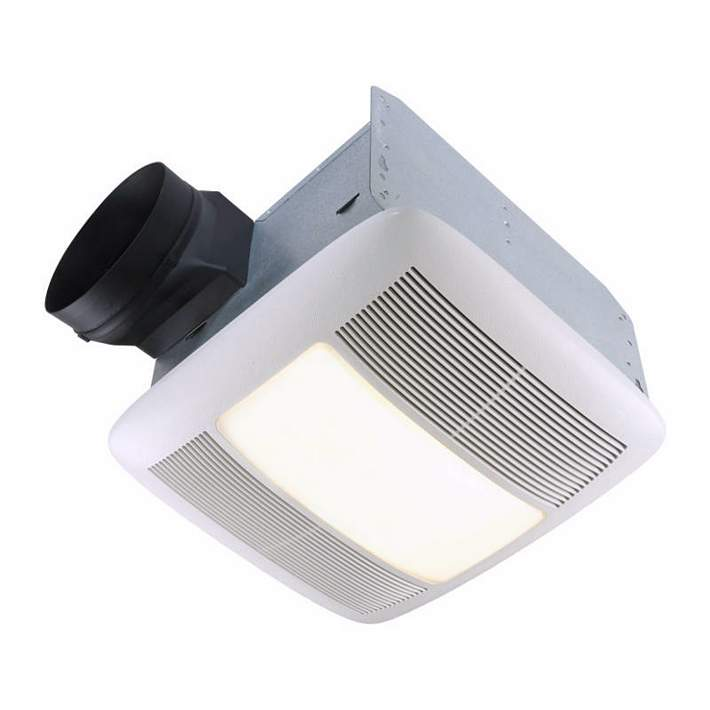 Ducting Light And Bathroom Exhaust Fan