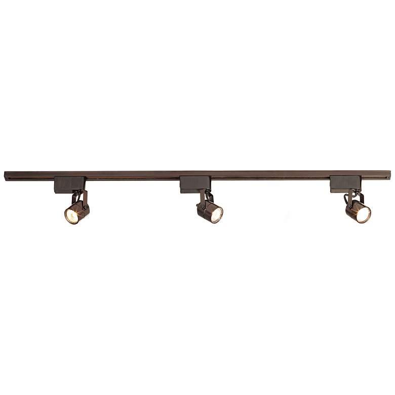 Pro Track® Oil Rubbed Bronze 150 Watt Linear Track Kit