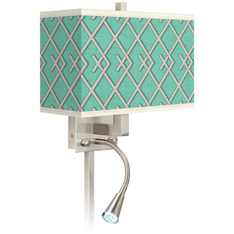 Crossings Giclee Glow LED Reading Light Plug-In Sconce