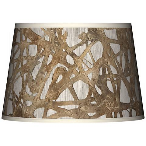Organic Nest Giclee Tapered Lamp Shade 13x16x10.5 (Spider)