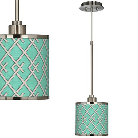 Crossings Giclee Glow Mini Pendant Light