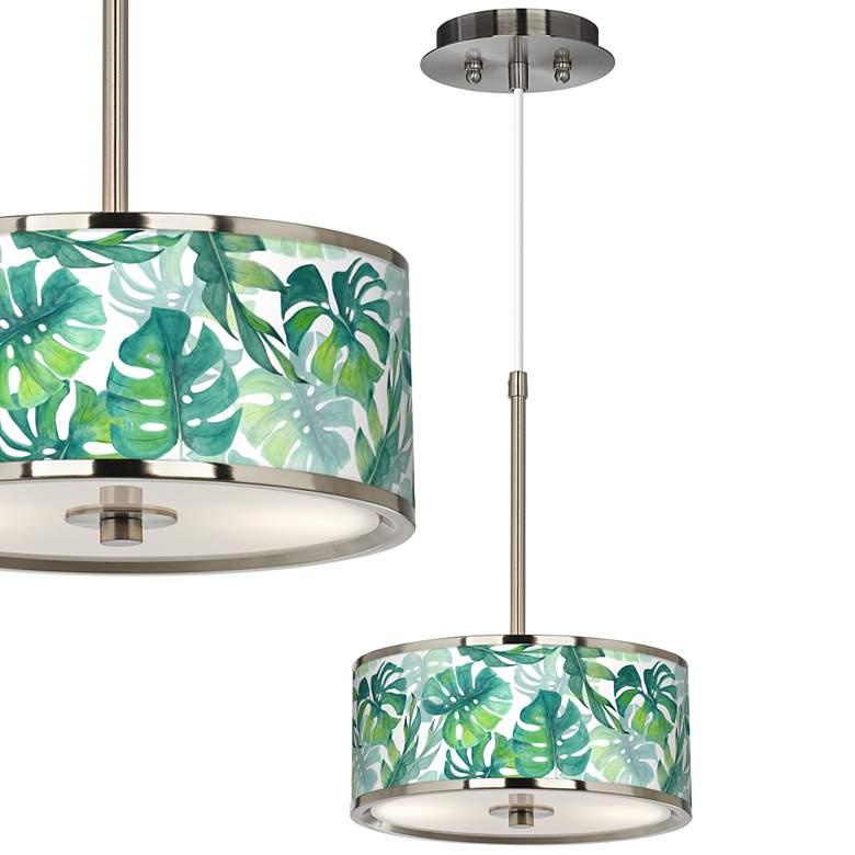 "Tropica Giclee Glow 10 1/4"" Wide Mini Pendant"