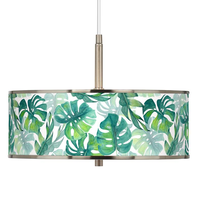 "Tropica Giclee Glow 16"" Wide Pendant Light"
