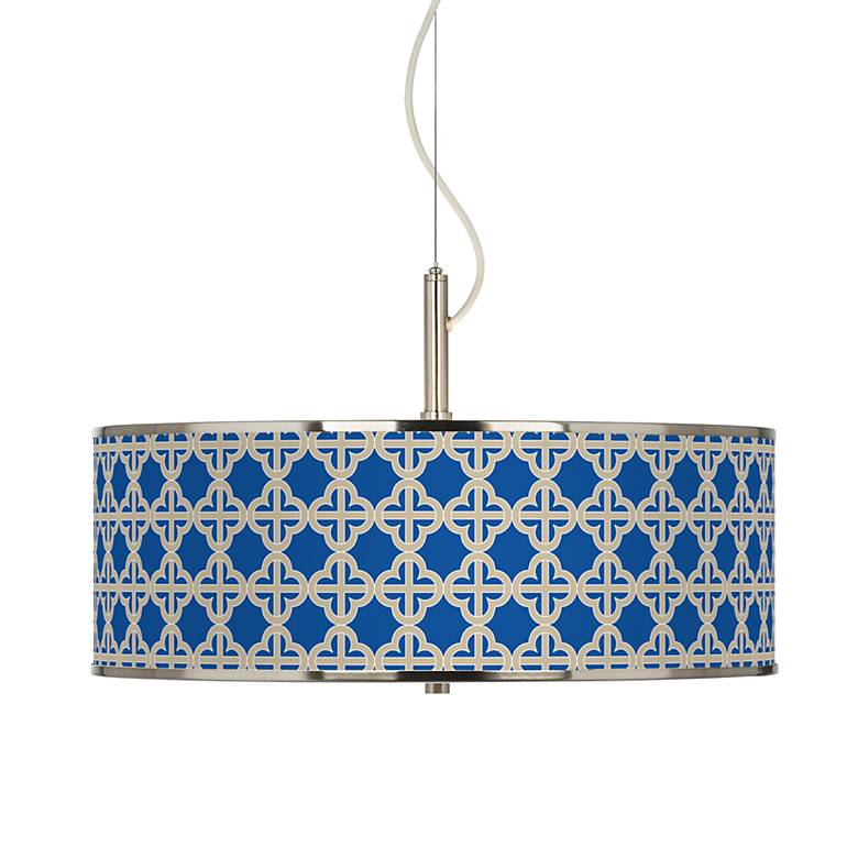 "Four Corners Giclee Glow 20"" Wide Pendant Light"