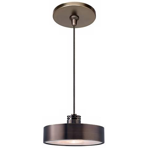 """LBL Hover 5 3/4"""" Wide Bronze Mini Pendant"""