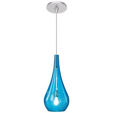 LBL Seguro Aqua Nickel Pendant Light